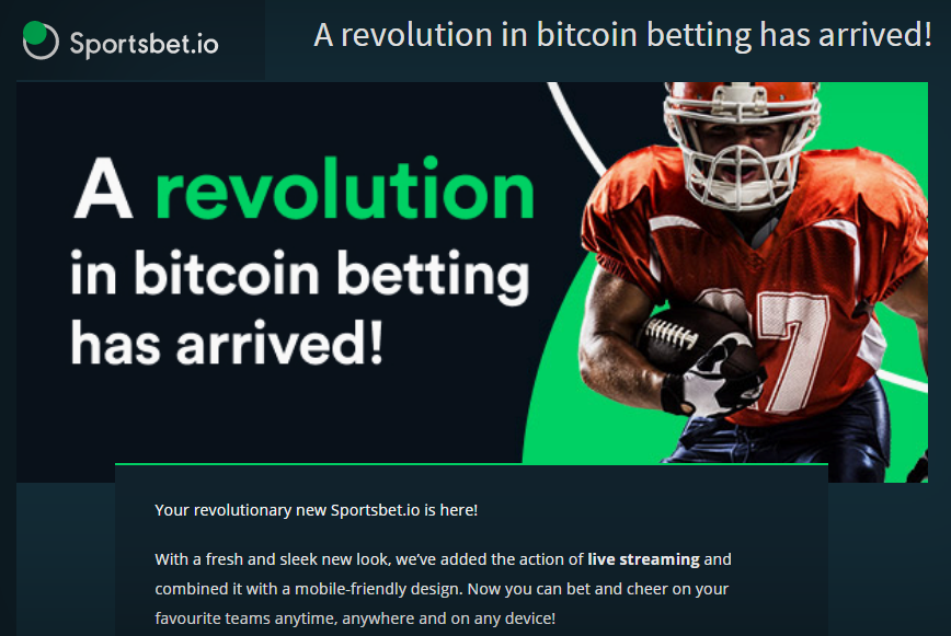 Bitcoin Sportsbook Sportsbetio Bitcoin Ethereum Or Litecoin
